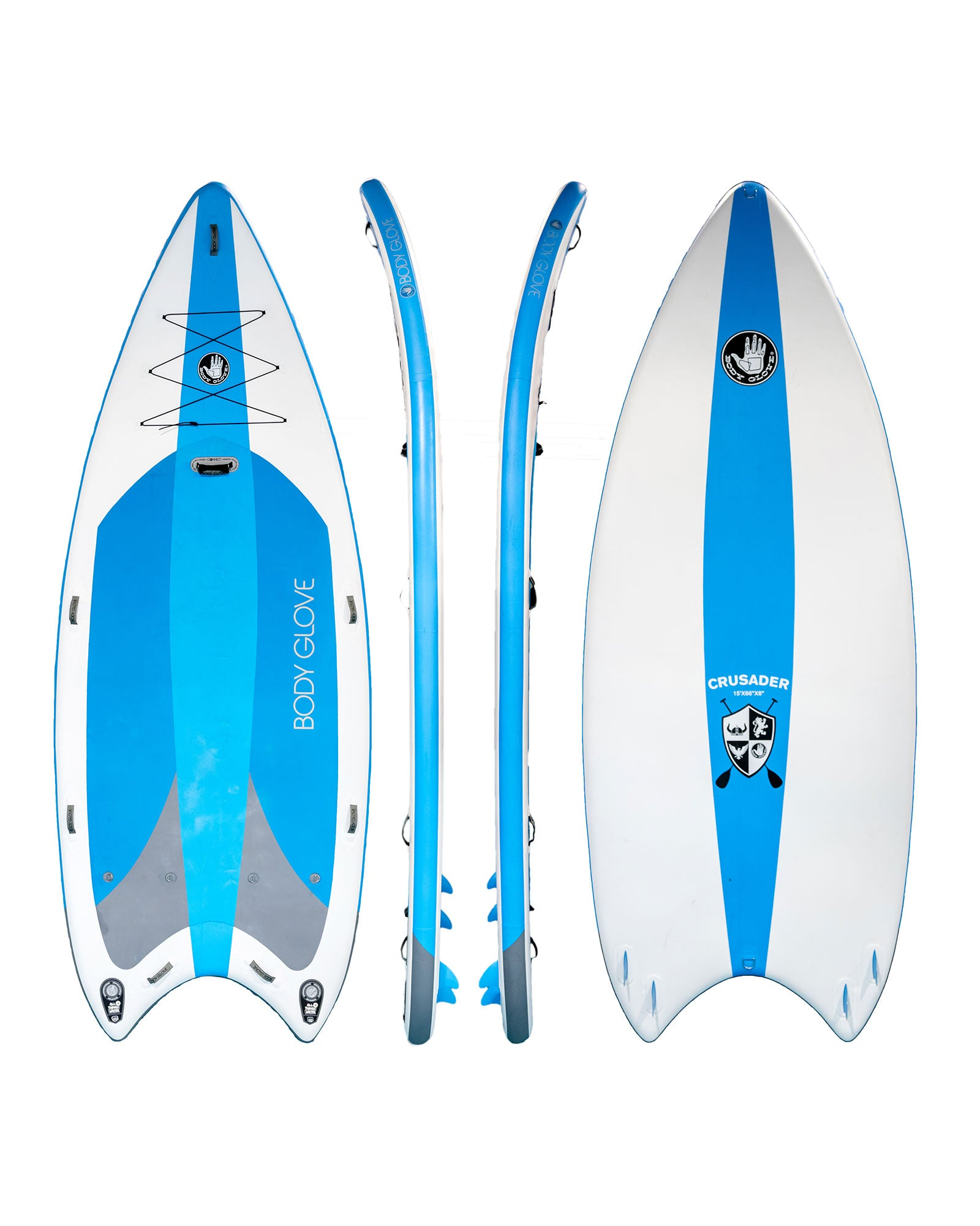 Crusader Multi-Person Inflatable Stand Up Paddle Board Package