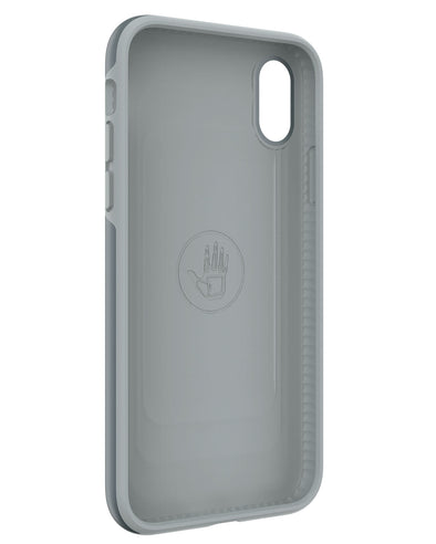 Illusive Case for iPhone X - Black/Silver