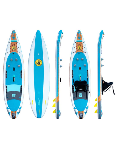 "Bullet 10'6"" Inflatable Kayak/Stand Up Paddle Board"