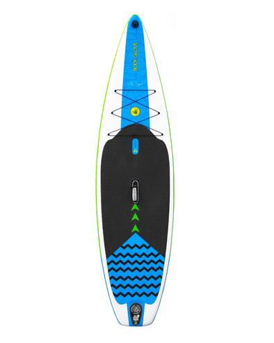 "Dynamo Signature 10'8"" Inflatable Stand Up Paddle Board (ISUP) with Bag, Paddle & Pump"