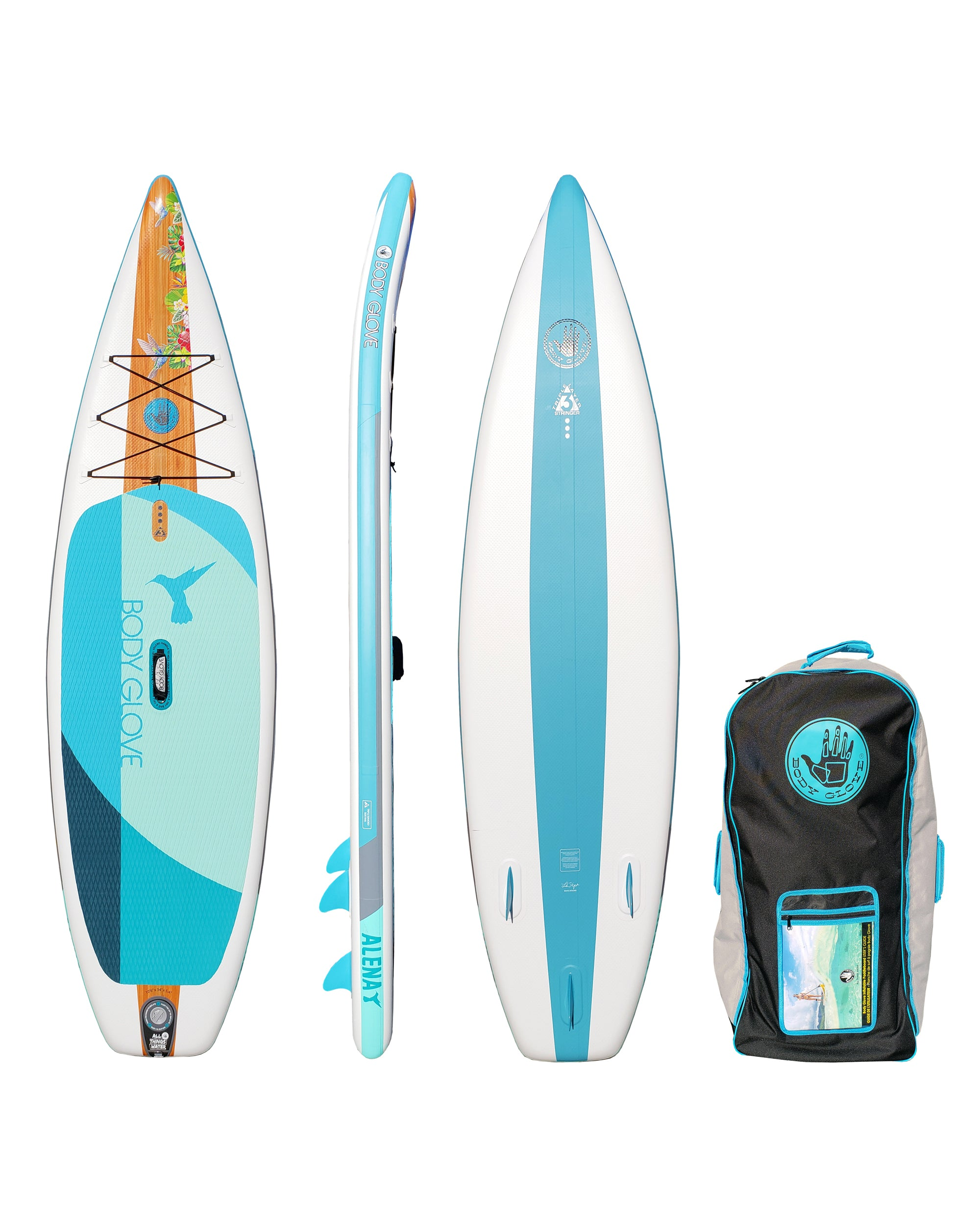 Stand Up Paddle Boards >> Alena 10 6 Inflatable Stand Up Paddle Board Isup With Bag Paddle