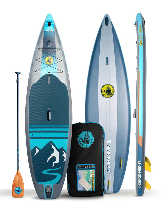 Performer 11' 2021 Inflatable Paddle Board Package