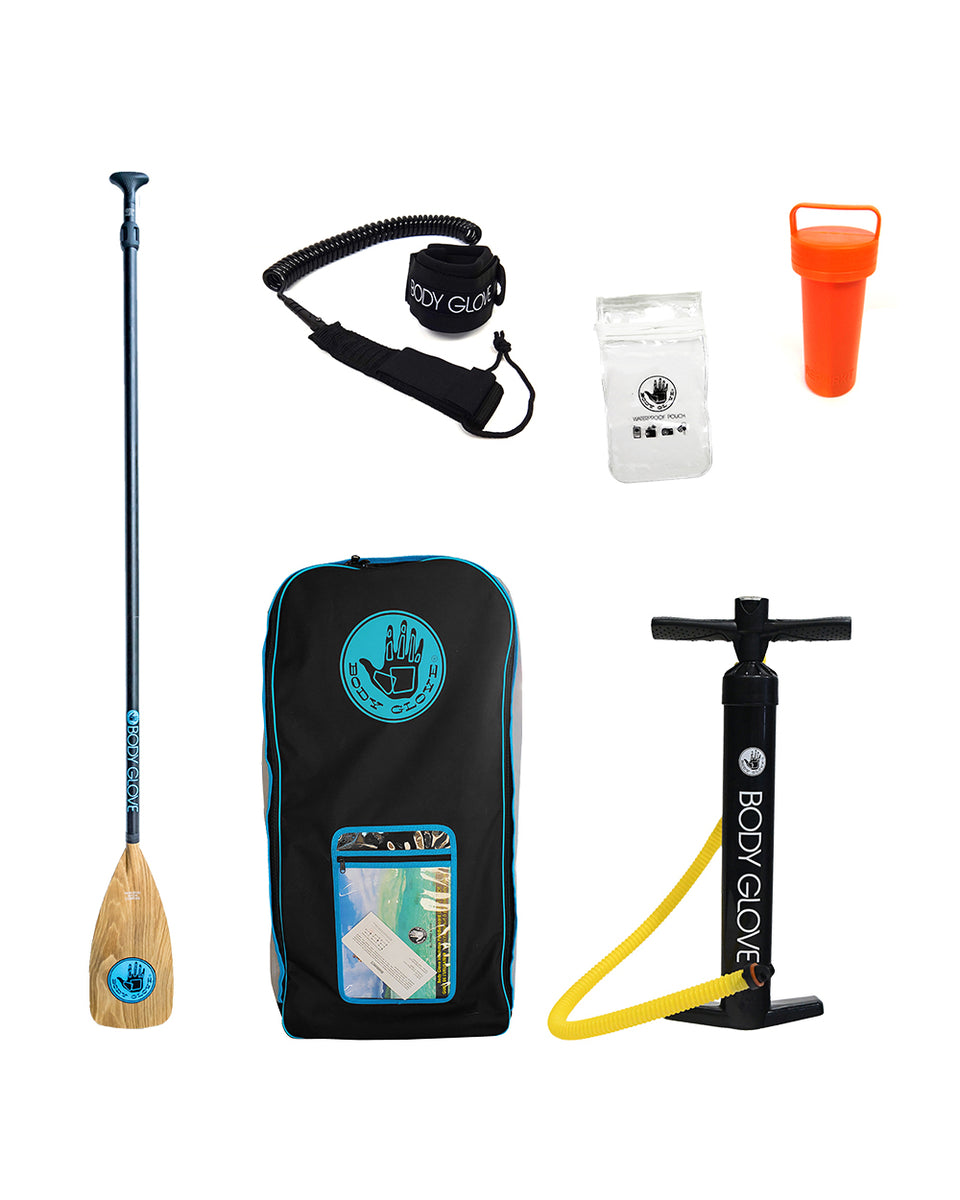 """Raptor Plus 10'8"""" Inflatable Paddle Board Package - Body Glove"""