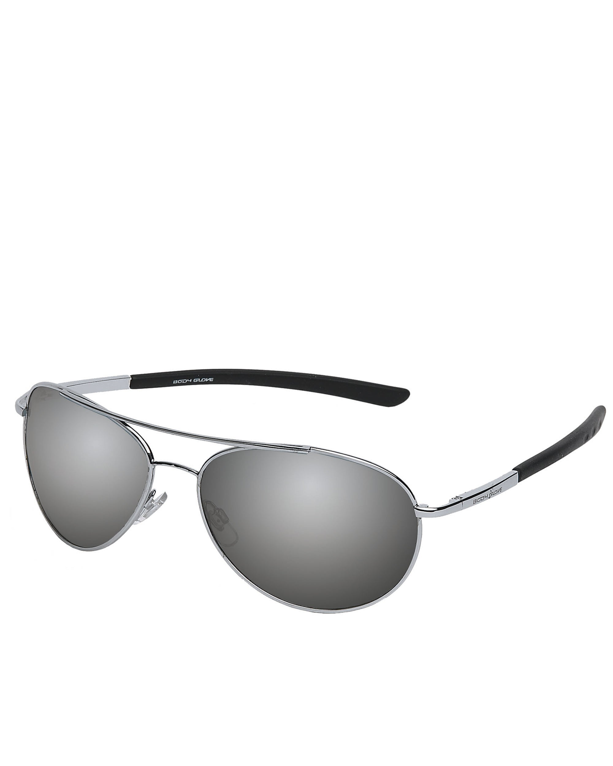Men's Oahu Polarized Sunglasses - Silver