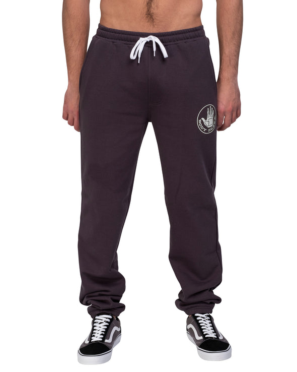 Drawstring Sweatpants - Washed Black