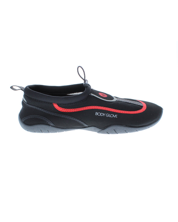 Men's Riptide III Water Shoes - Black/Infrared