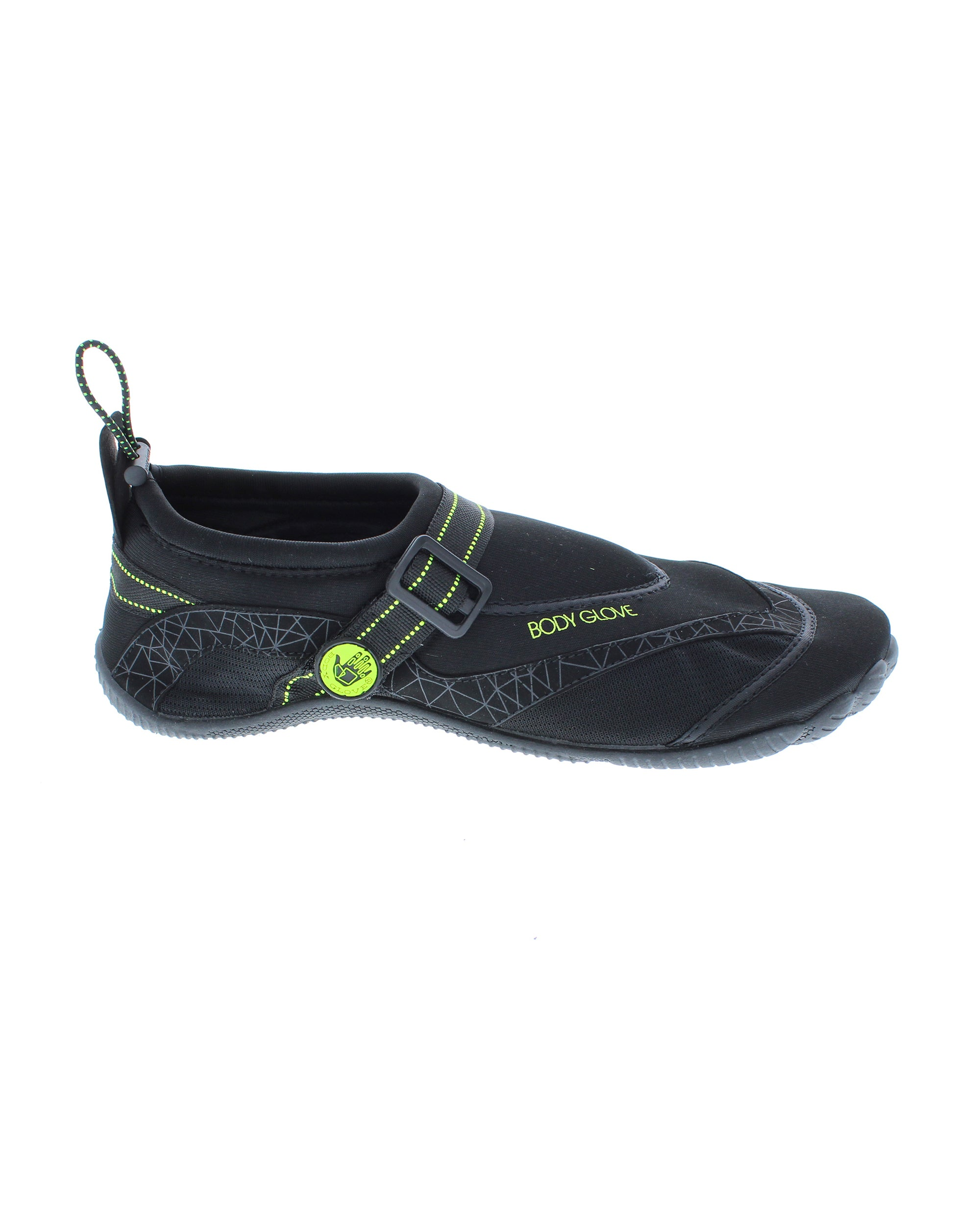 Men's Realm Water Shoes - Black/Neon Yellow