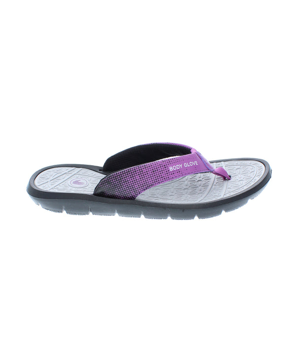 Women's Splash Flip-Flop Sandals - Black/Magnolia