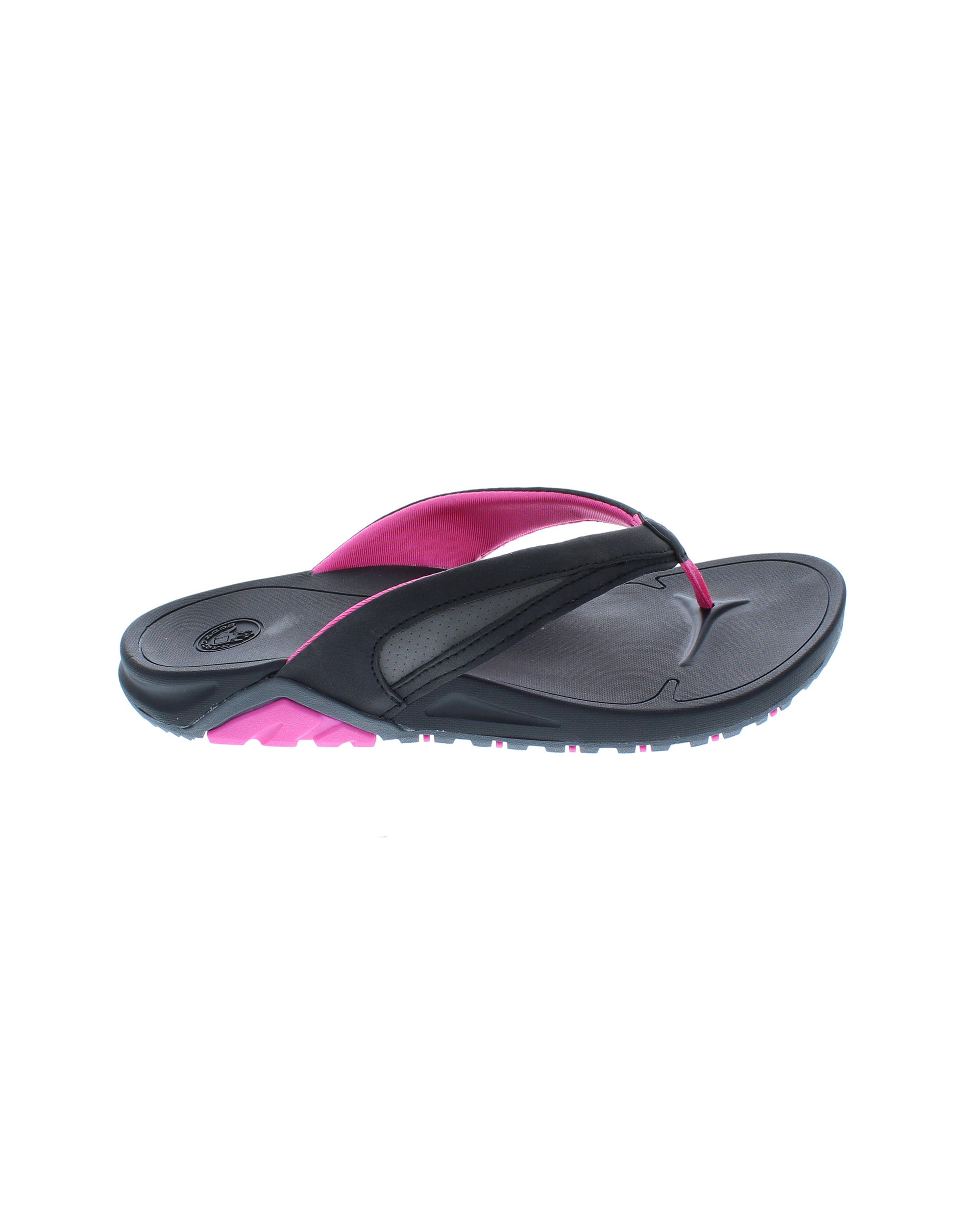 42f9716d92e Women's Sway Flip-Flop Sandals - Black/Flamingo Pink -
