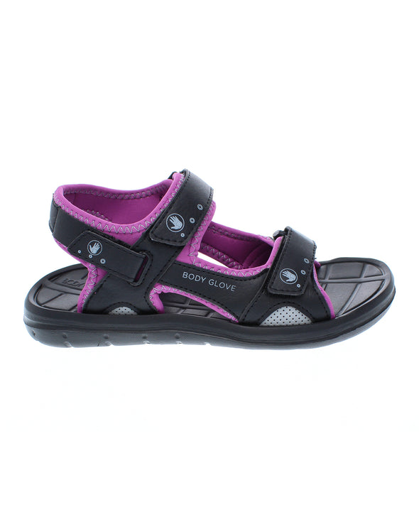 Women's Trek Adjustable-Strap Sandals - Black/Magnolia