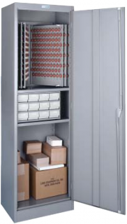 Lund Floor Utility Key Cabinet Combination