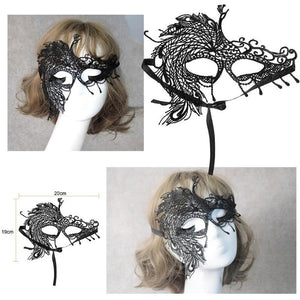 2a37e07b22ce Design Women Costume Eye Mask Sexy Lace Eye Mask Venetian Masquerade Ball  Halloween Fancy Dress Costume