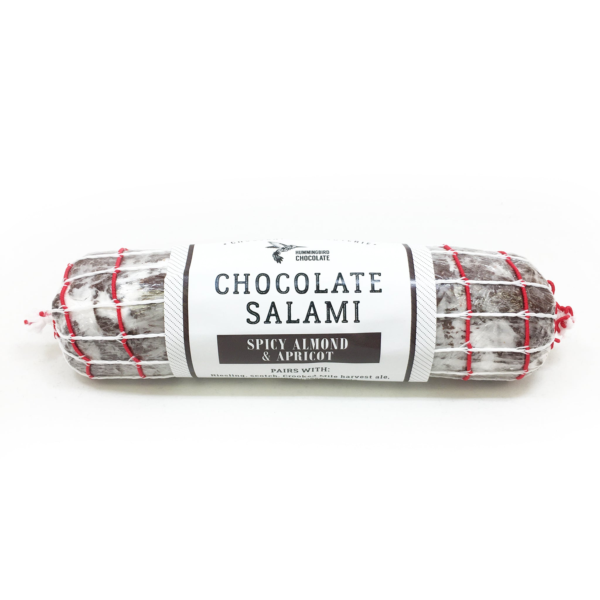 Chocolate Salami, Spicy Almond & Apricot