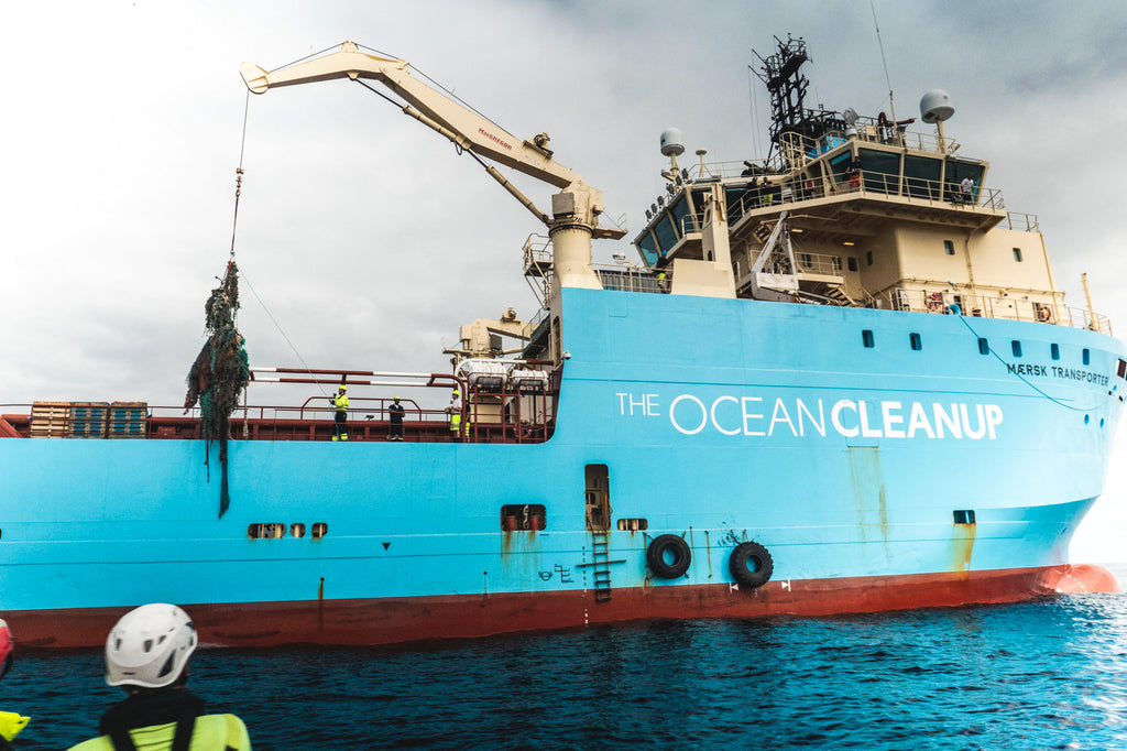 Spenden an The Ocean Cleanup