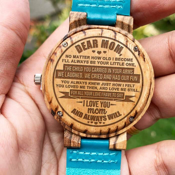 Mom - Always & Forever Wood Watch - WH-FB01-10