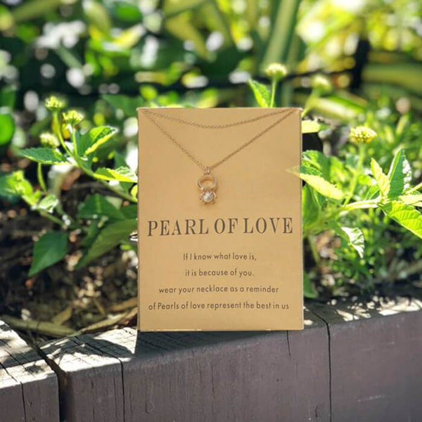 Pearl Of Love - Necklace