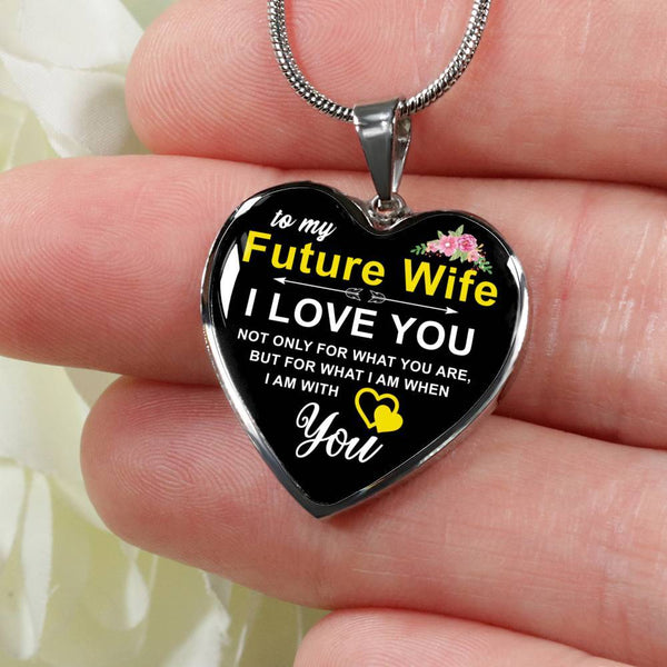 To My Future Wife - Heart Necklace - HD62