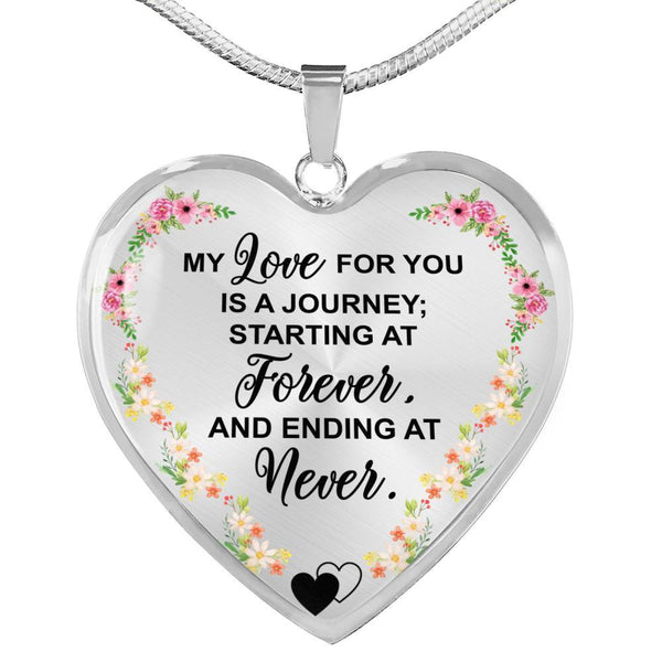 A Journey Of Love - Heart Necklace - HD48