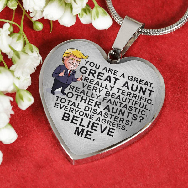 You're A Great Aunt - Pendant Necklace - HD11