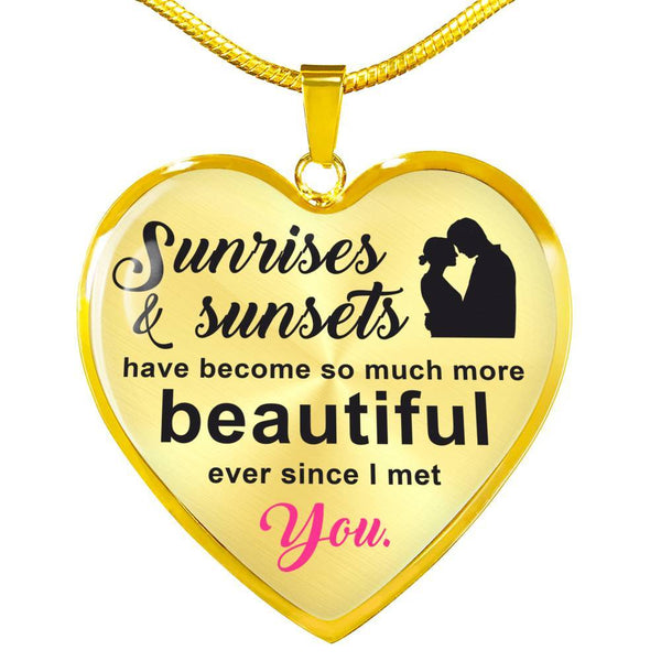 Ever Since I Met You - 18k Gold Luxury Necklace - HD67
