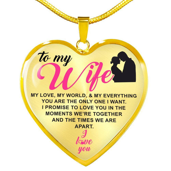 To My Wife - Luxury Necklace - HD65
