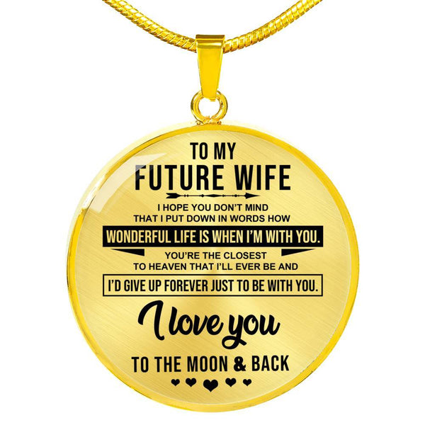 To My Future Wife - Necklace - CD02