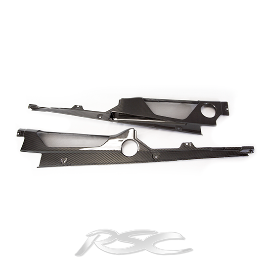 4-Piece Carbon Fiber Engine Bay Kit