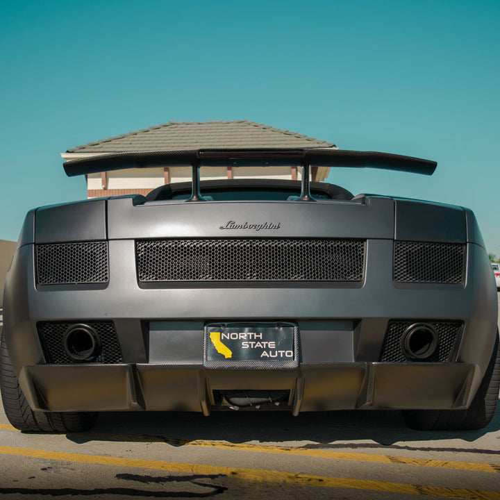 Carbon Fiber Rear Diffuser for Lamborghini Gallardo