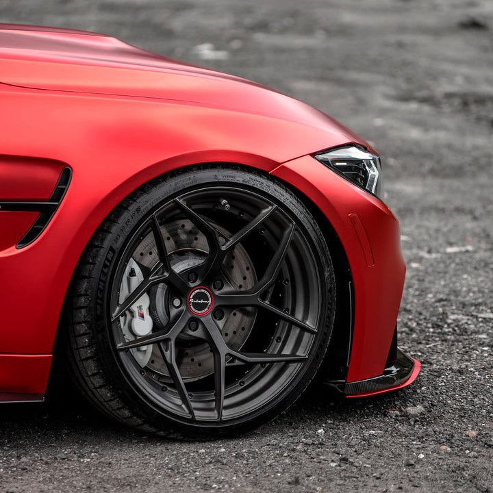 BMW M3 M4 Adjustable Front Splitter by RSC Tuning