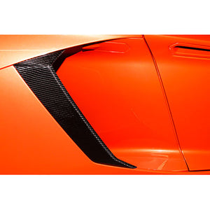 Lamborghini Aventador Carbon Fiber Engine Intake Cover Side