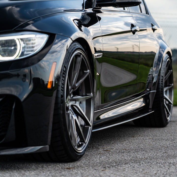 RACING SPORT CONCEPTS BMW M3 SIDE SKIRTS