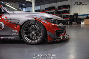 Adjustable Front Splitter for BMW M3 M4 11