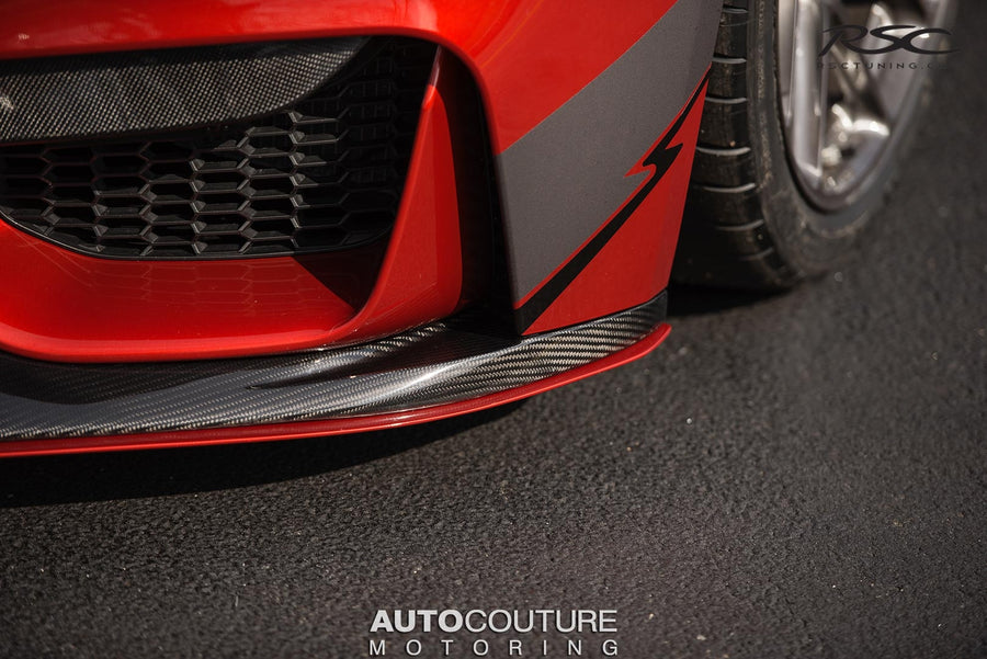 RSC Tuning BMW M3 M4 Front Air Dam Splitter 38