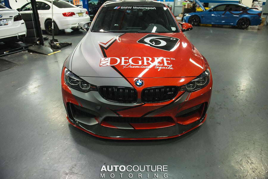 Adjustable Front Splitter for BMW M3 M4 9