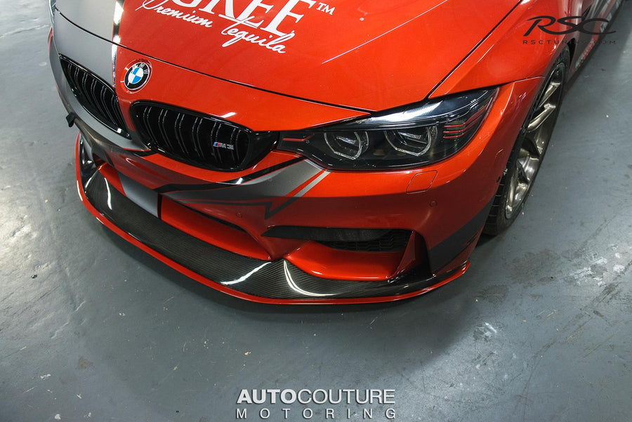 RSC Tuning BMW M3 M4 Front Air Dam Splitter 41