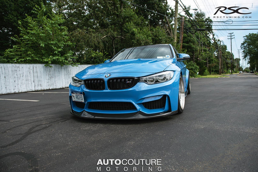 RSC Tuning BMW M3 M4 Front Air Dam Splitter 29