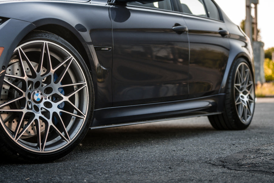 BMW Side Skirts Carbon Fiber M3