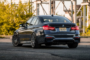 BMW M3 Rear Shot Industrial
