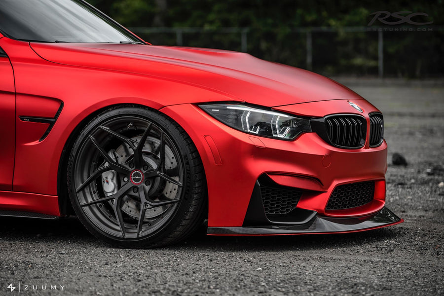 RSC Tuning BMW M3 M4 Front Air Dam Splitter 16