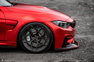 RSC Tuning BMW M3 M4 Front Air Dam Splitter 18