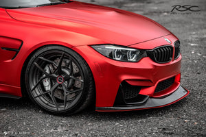 RSC Tuning BMW M3 M4 Front Air Dam Splitter 20