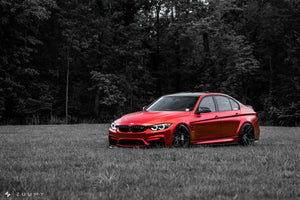 RSC Tuning BMW M3 M4 Front Air Dam Splitter 21