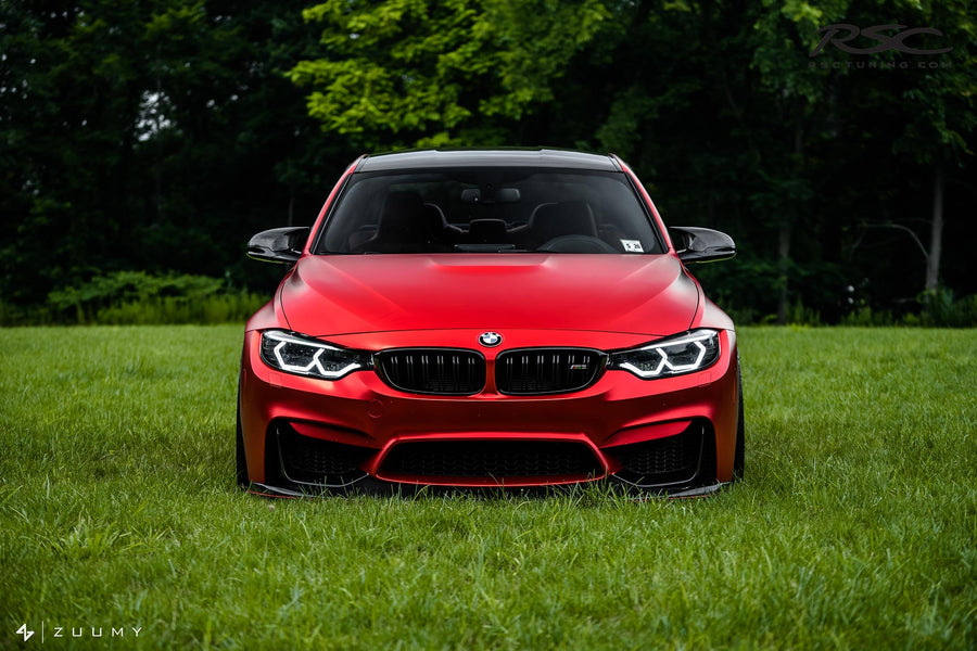 RSC Tuning BMW M3 M4 Front Air Dam Splitter 22