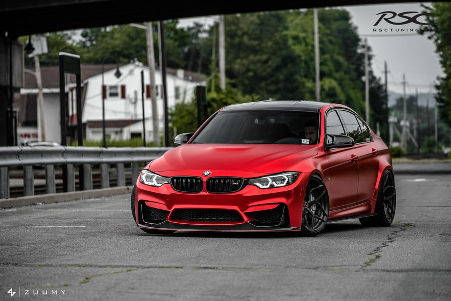 RSC Tuning BMW M3 M4 Front Air Dam Splitter 23