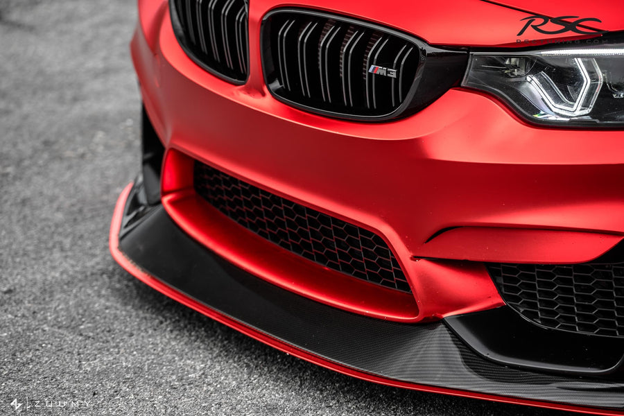 RSC Tuning BMW M3 M4 Front Air Dam Splitter 26