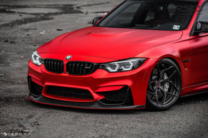RSC Tuning BMW M3 M4 Front Air Dam Splitter 13