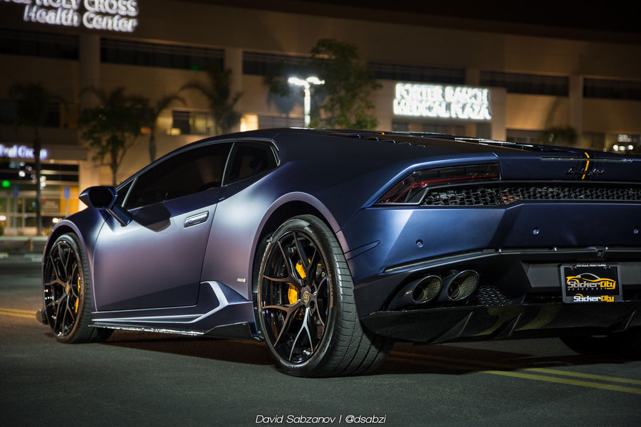 Slip- On Rear Diffuser for Lamborghini Huracan