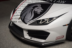 LP580 Carbon Fiber Front Splitter