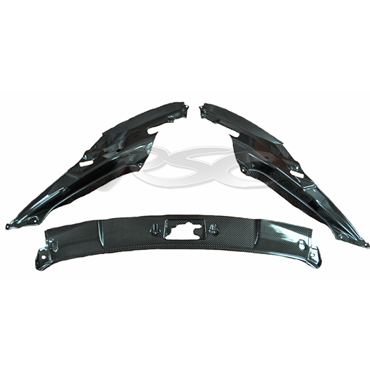 LP 550/560/570 3-Piece Carbon Fiber Trunk Kit,LP 550/560/570 3-Piece Carbon Fiber Trunk Kit