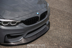 Fashion Grey F80 M3 Carbon Fiber Front Splitter